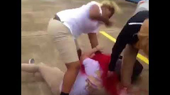 Gotta Be Some Jealousy Involved: Girl gets Jumped   One Girl