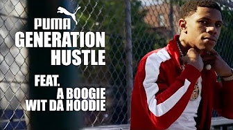 0af948613b3 A Boogie Wit Da Hoodie Embraces His Hustler s Spirit With PUMA ...